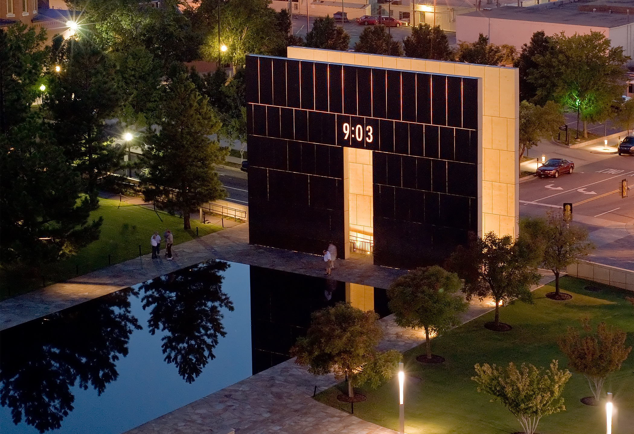 image of the okc national memorial museum