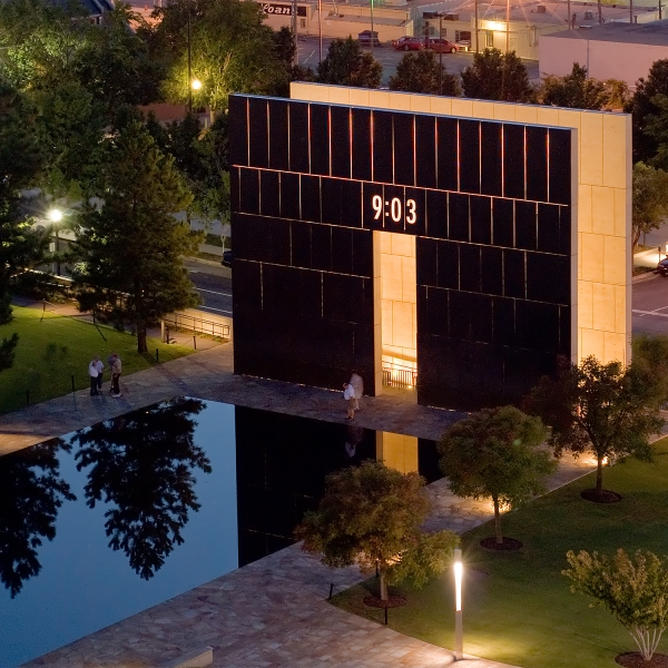 image of the okc national memorial museum