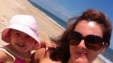 Ali Meyer & Amelia in Dewey Beach, D.E.