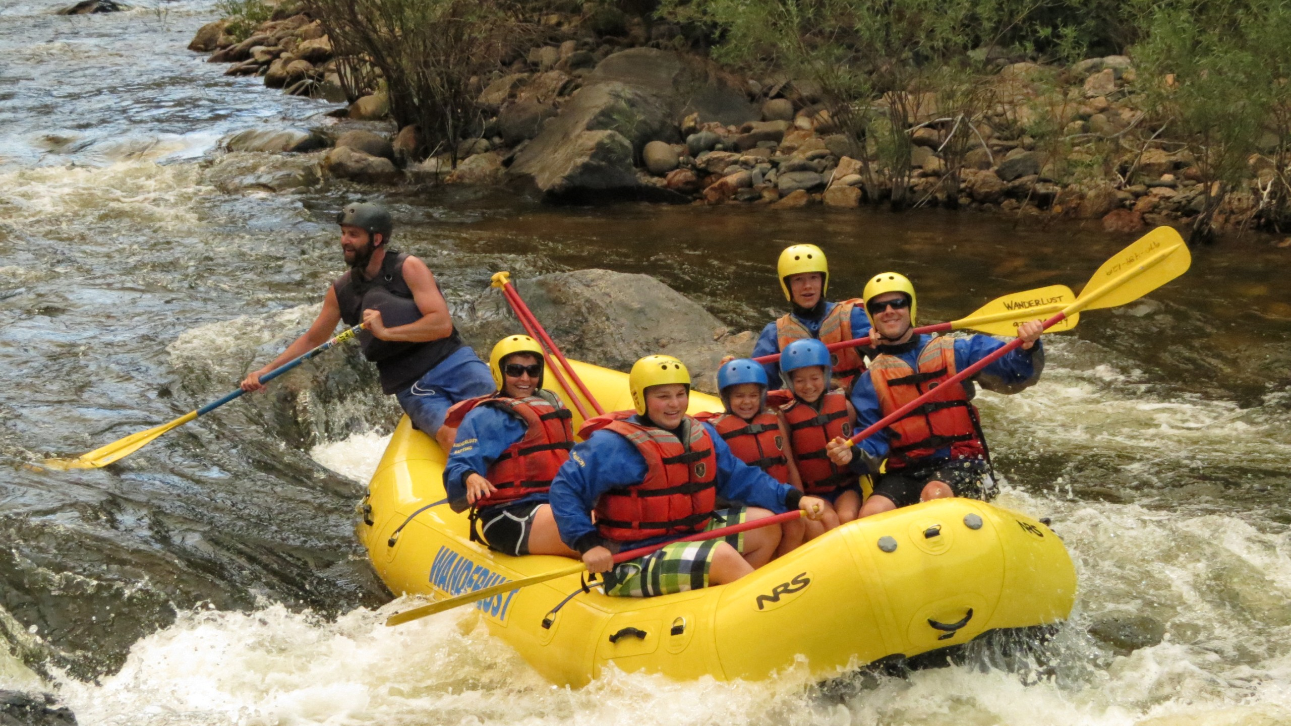 Water rafting the Poudre River just outside Fort Collins, CO - Amy Urbach