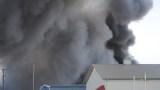 Diamond Services fire - Courtesy Woodward News