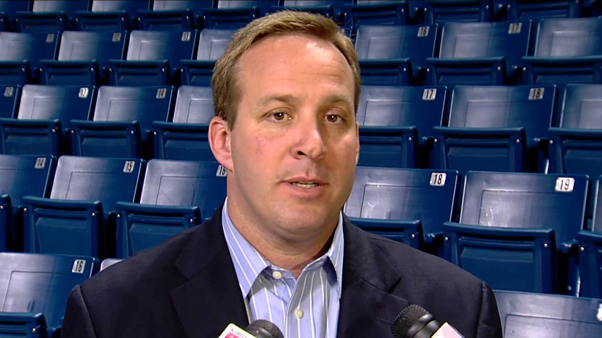 University of Tulsa Athletic Director Ross Parmley