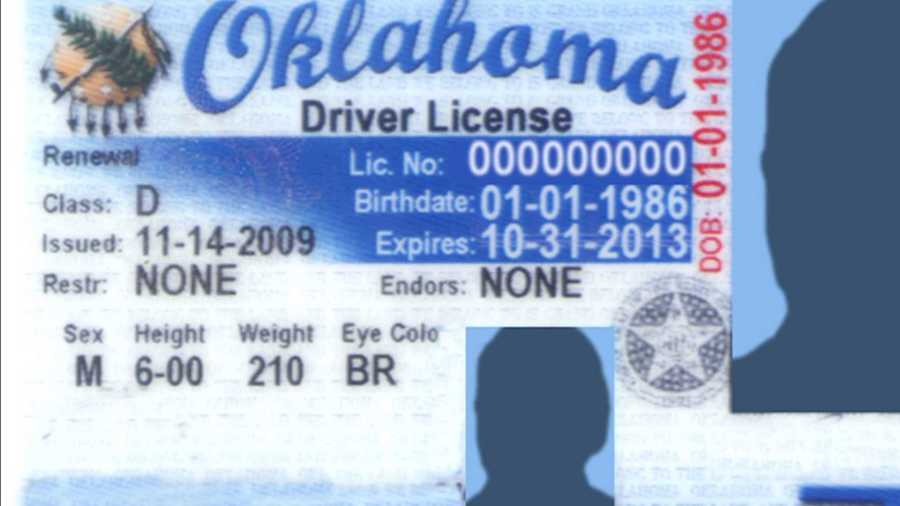 Oklahoma driver's license