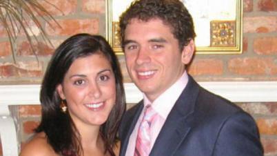 "Jameson ""Jamie"" Kirk Hahn, 29, and her groom Nation Hahn, 27. (Photo: WTVD)"