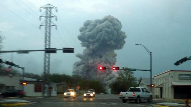 Waco Plant Explosion - Mariah Garcia