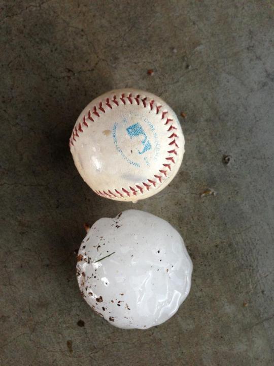 Baseball hail Sean Fuller