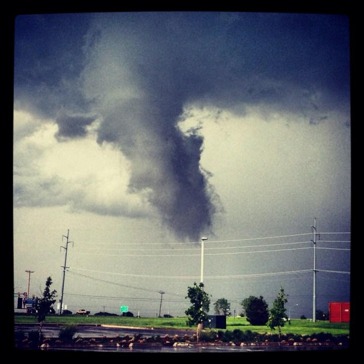 Edmond tornado Ken Carlyle