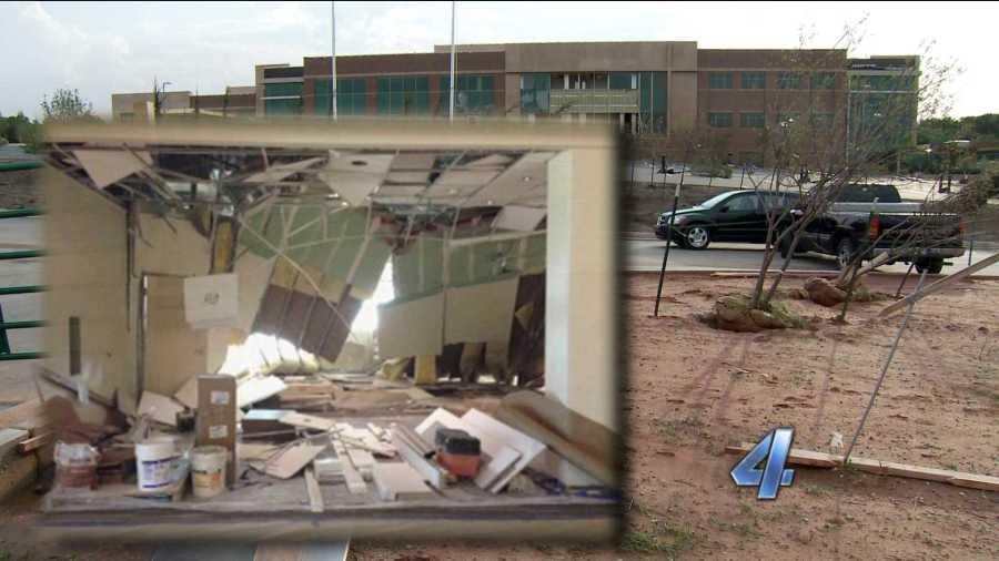 Edmond tornado Mercy damage