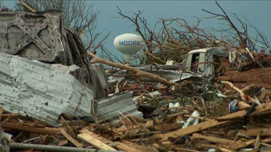 May 20, 2013 Moore tornado damage