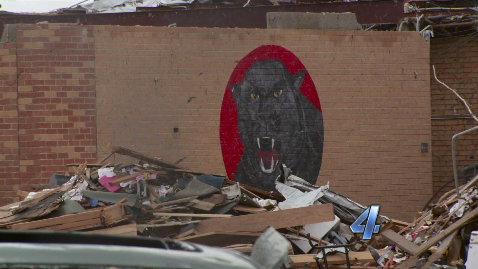 Plaza Towers Panther may be saved from demolition as a tribute to school and the children.