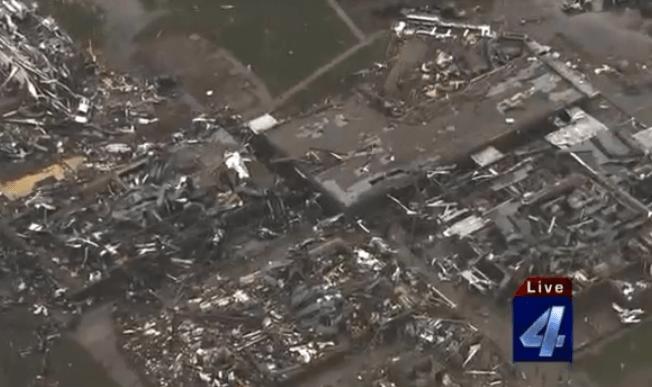 Moore tornado damage - May 20