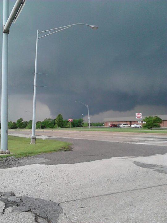 Shawnee tornado - Tyler Hodges