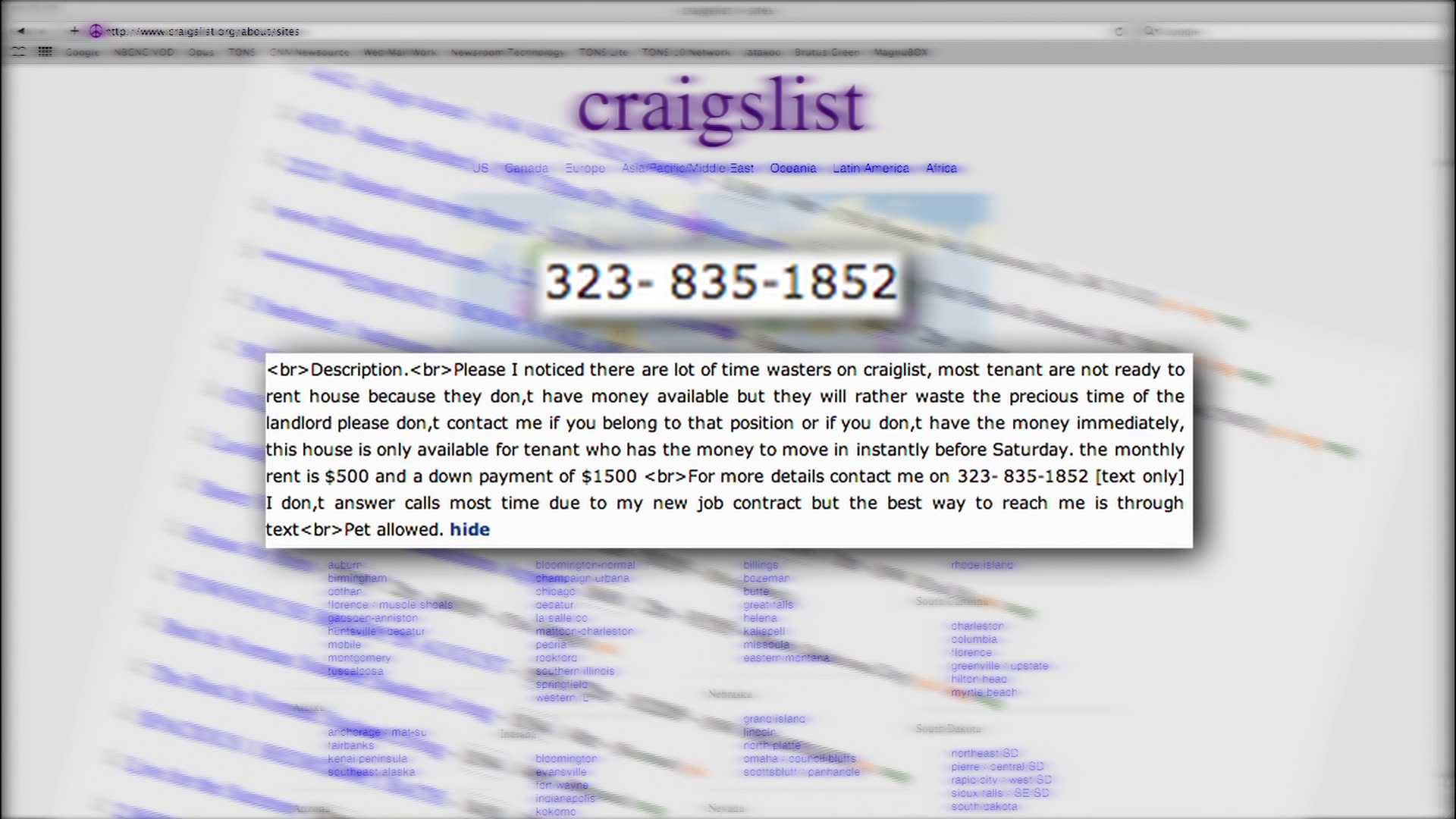Iyc Craigslist Rental Scam Kfor Com Oklahoma City Community events for sale gigs housing jobs resumes services. kfor oklahoma city