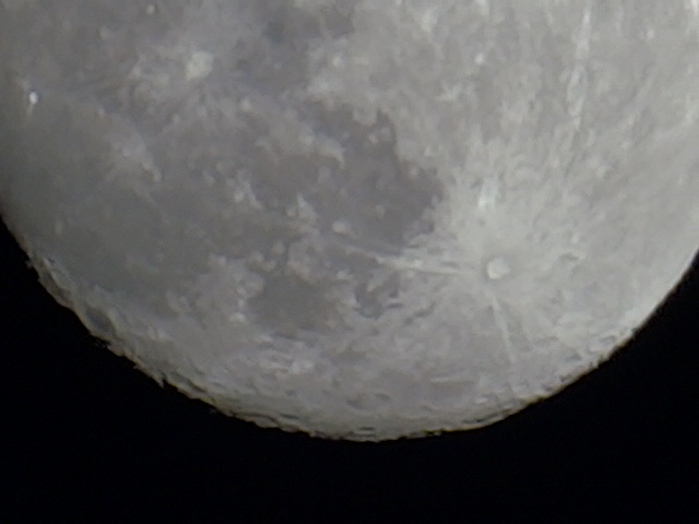 Moon from Norman, Okla.