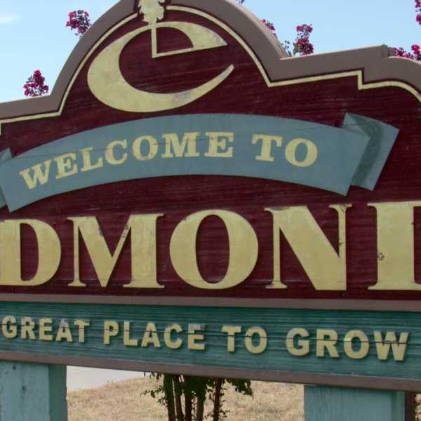 City of Edmond sign