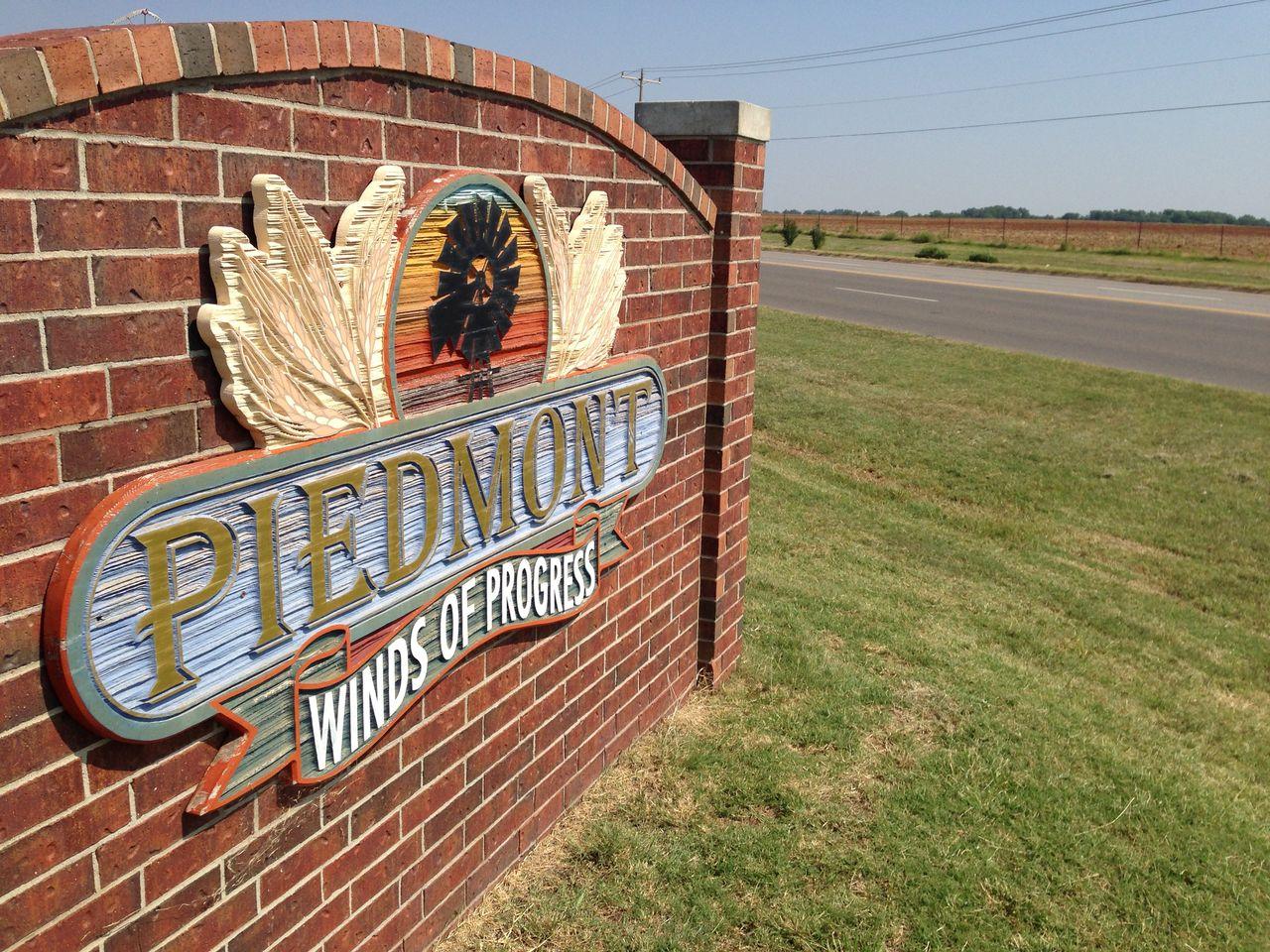 Piedmont sign