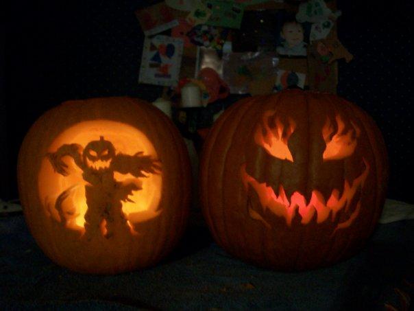 Jack-o-lanterns from Stephanie Burns