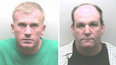 Gary Minor, Jr. and Robert Gillaspie (Photos: Marshall County Sheriff's Office)