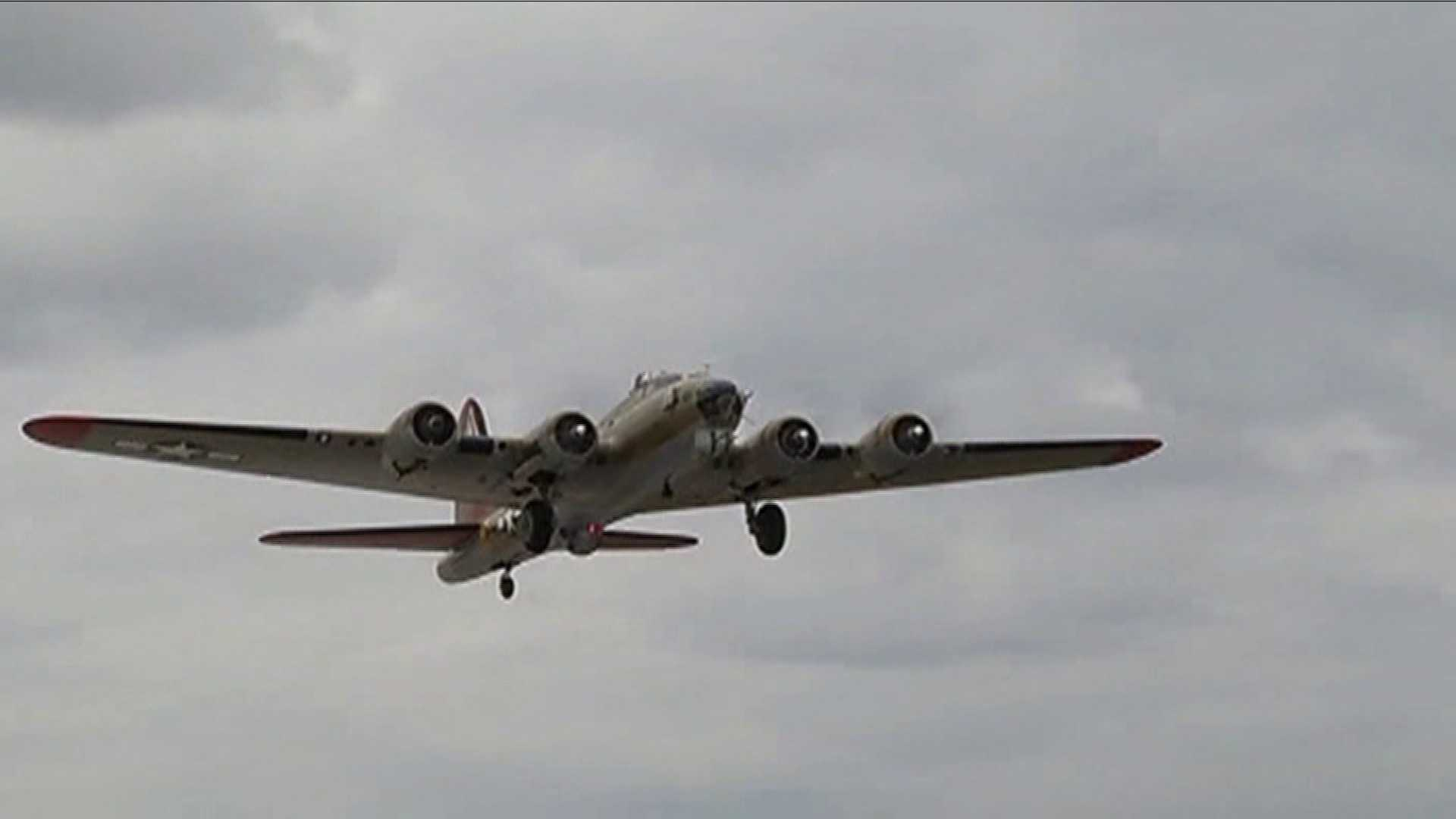 WWII plane from 2014