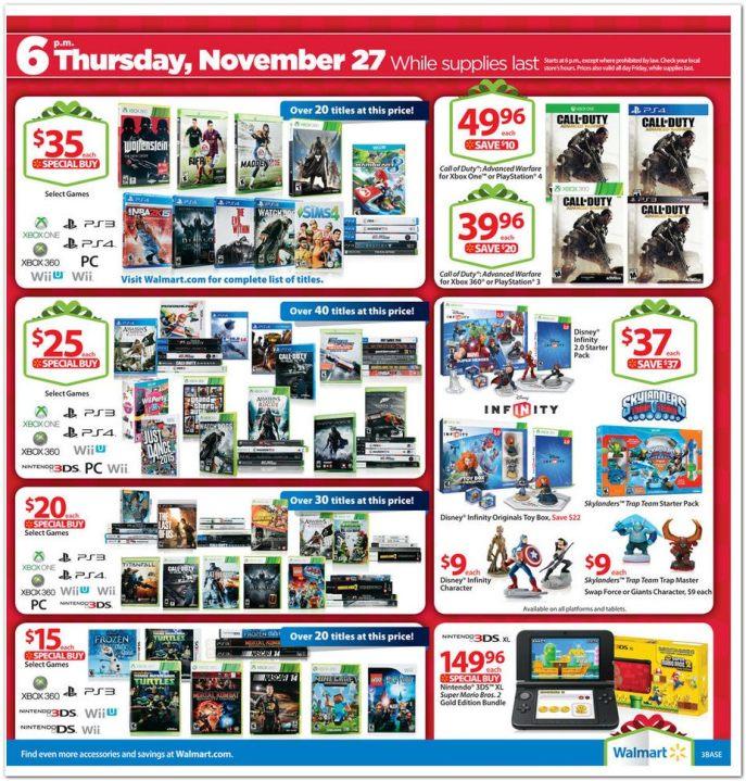 Walmart S Black Friday Ad For 2014 Kfor Com Oklahoma City