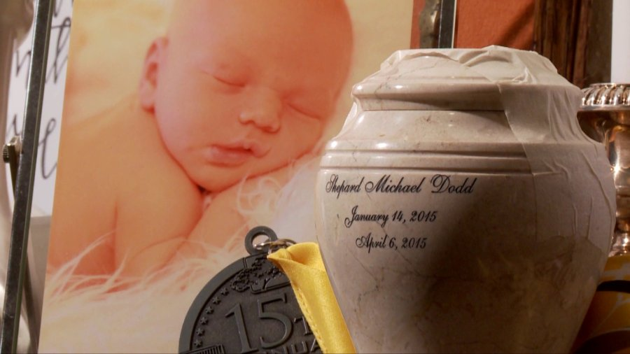 Shepard Dodd died after being placed in a carseat
