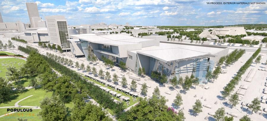 MAPS 3 Convention Center preliminary design 3