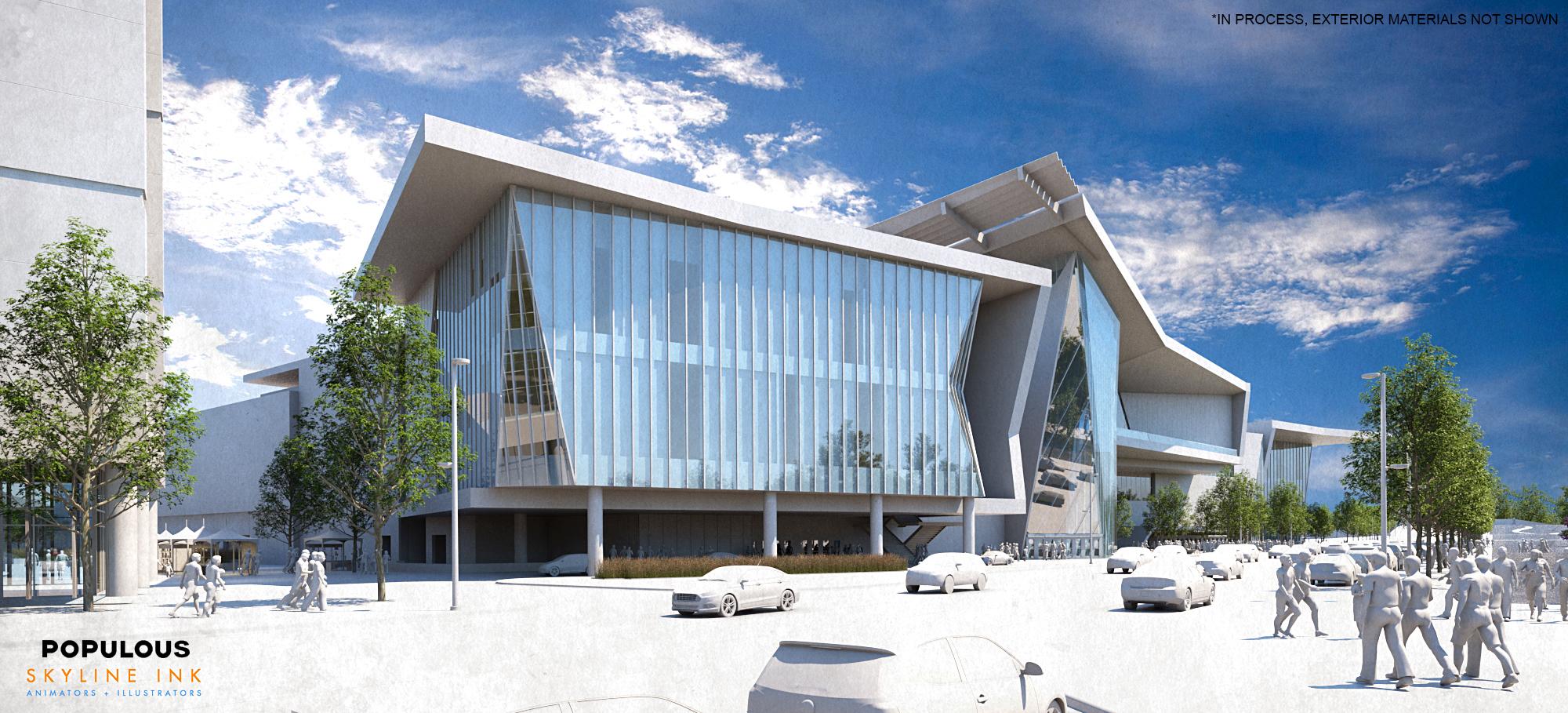 MAPS 3 Convention Center preliminary design 4