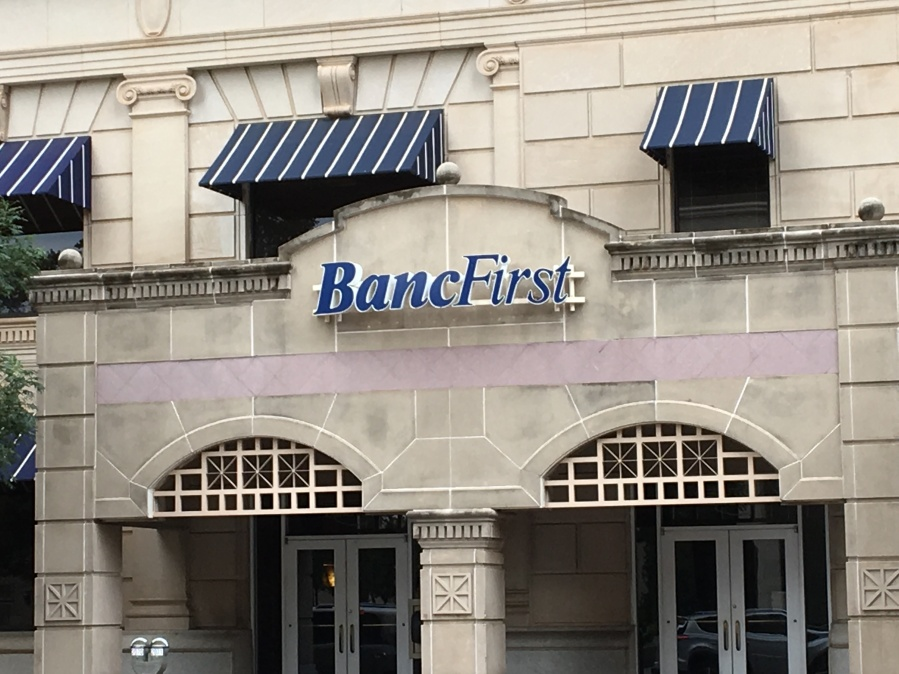 BancFirst located in downtown Oklahoma City