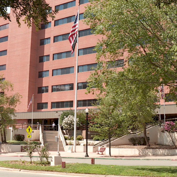 The Oklahoma City VA Health Care System building, pictured on Aug. 24, 2017.
