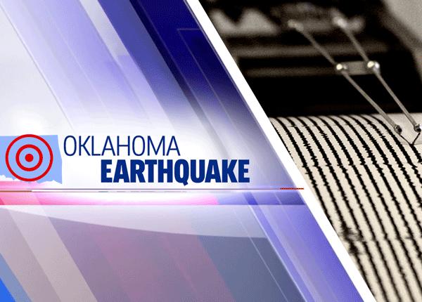 Oklahoma earthquake graphic