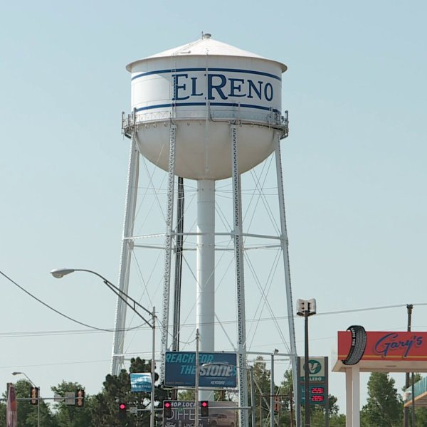 El Reno water tower