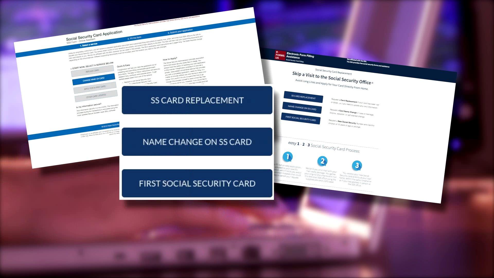 Never Pay Someone To Replace Your Social Security Card Kfor Com Oklahoma City