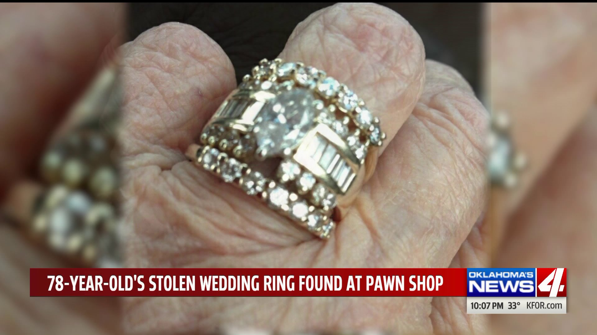Stolen Wedding Ring Found Found In Okc Pawn Shop But Its Dying