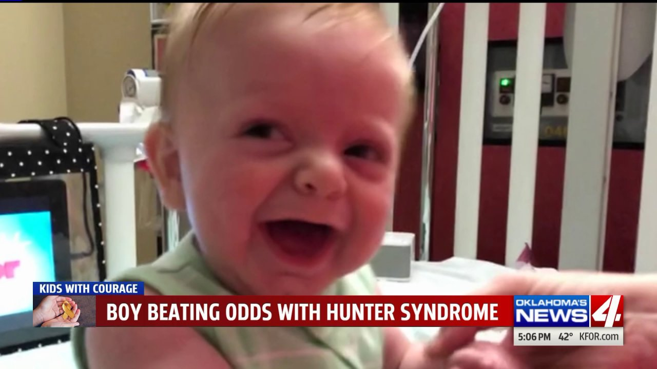 'Miracle Baby' Fighting Deadly Genetic Disease And Hoping