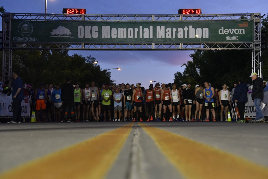 Oklahoma City Memorial Marathon 2019. Photo Credit Nick Oxford