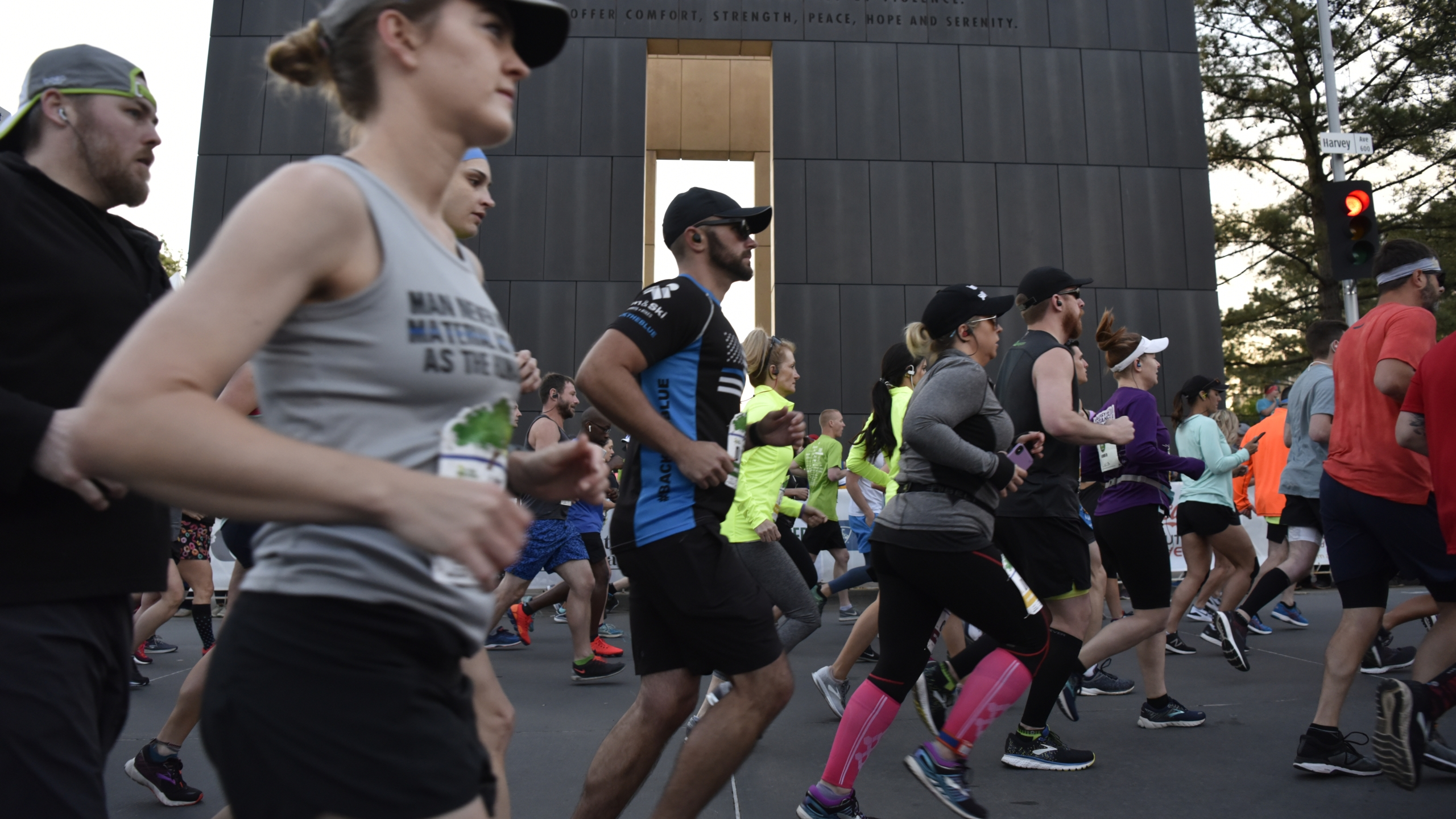 Oklahoma City Memorial Marathon 2019. Photo Credit, Nick Oxford