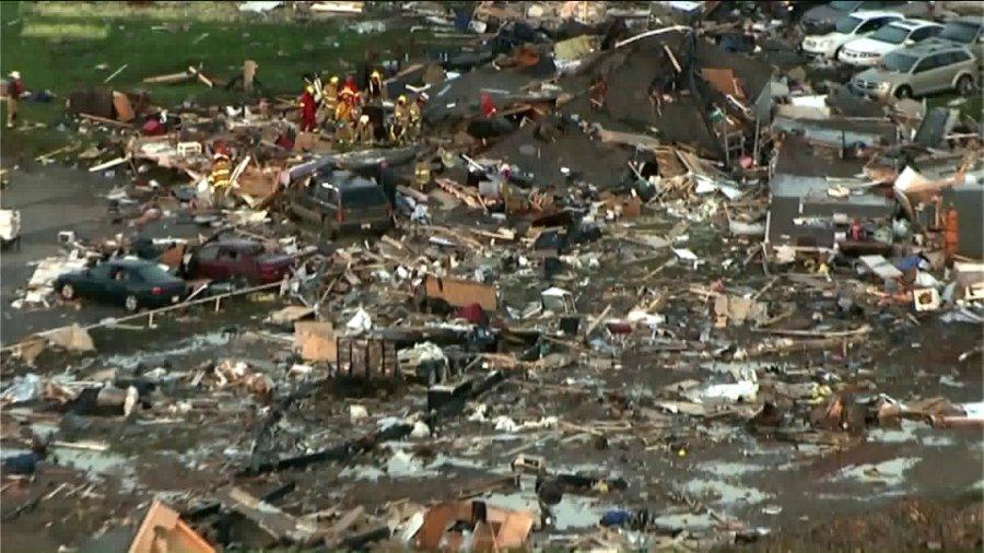 El Reno Tornado damage