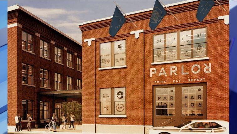 Parlor food hall