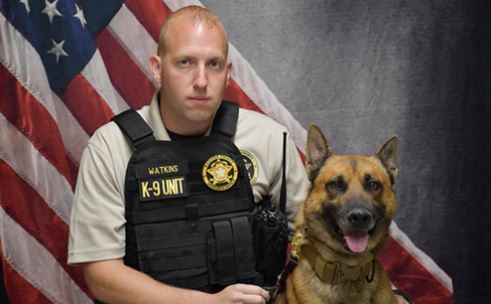 Oklahoma Army National Guardsman and Wagoner County Deputy Sgt. Darren Watkins