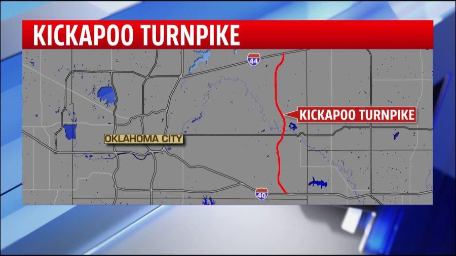 Kickapoo Turnpike map