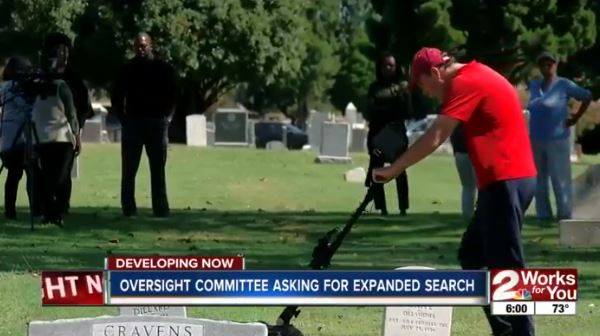 Crews begin using ground penetrating radar to search for mass graves