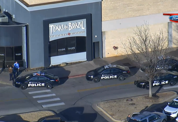 Police respond to shooting at Penn Square Mall on Dec. 19, 2019