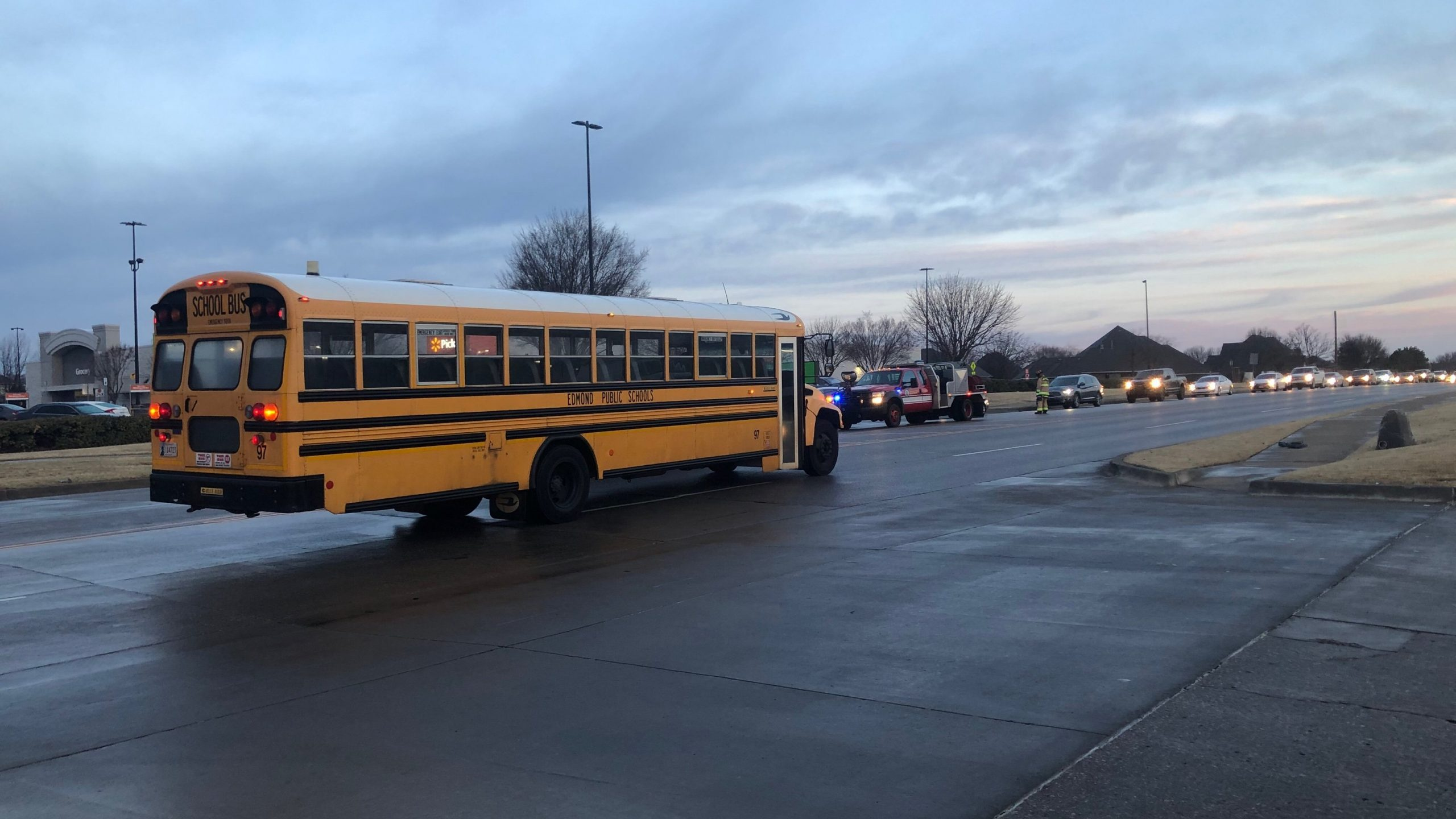 School bus crash near NW 164th