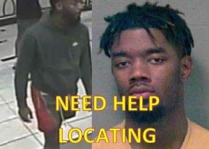 Mugshot of wanted suspect