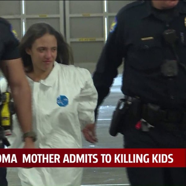 Mother accused of killing three kids