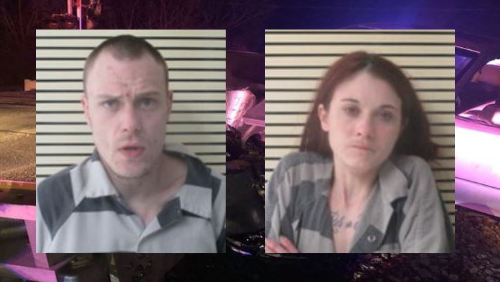 Kodiak Mayo and Christian Martin are seen in booking photos obtained from the Wagoner County Sheriff's Office.