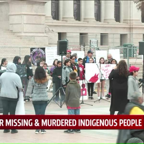 Rally for missing indigenous people
