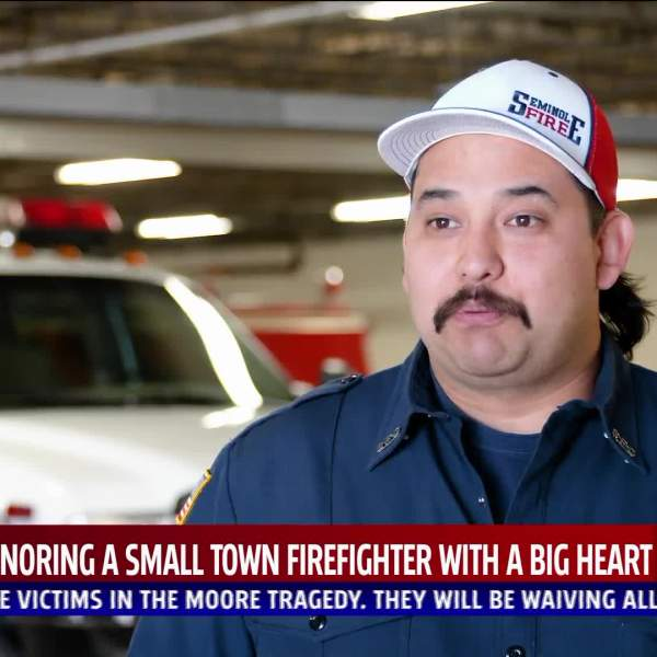 Seminole firefighter is Proud to Serve