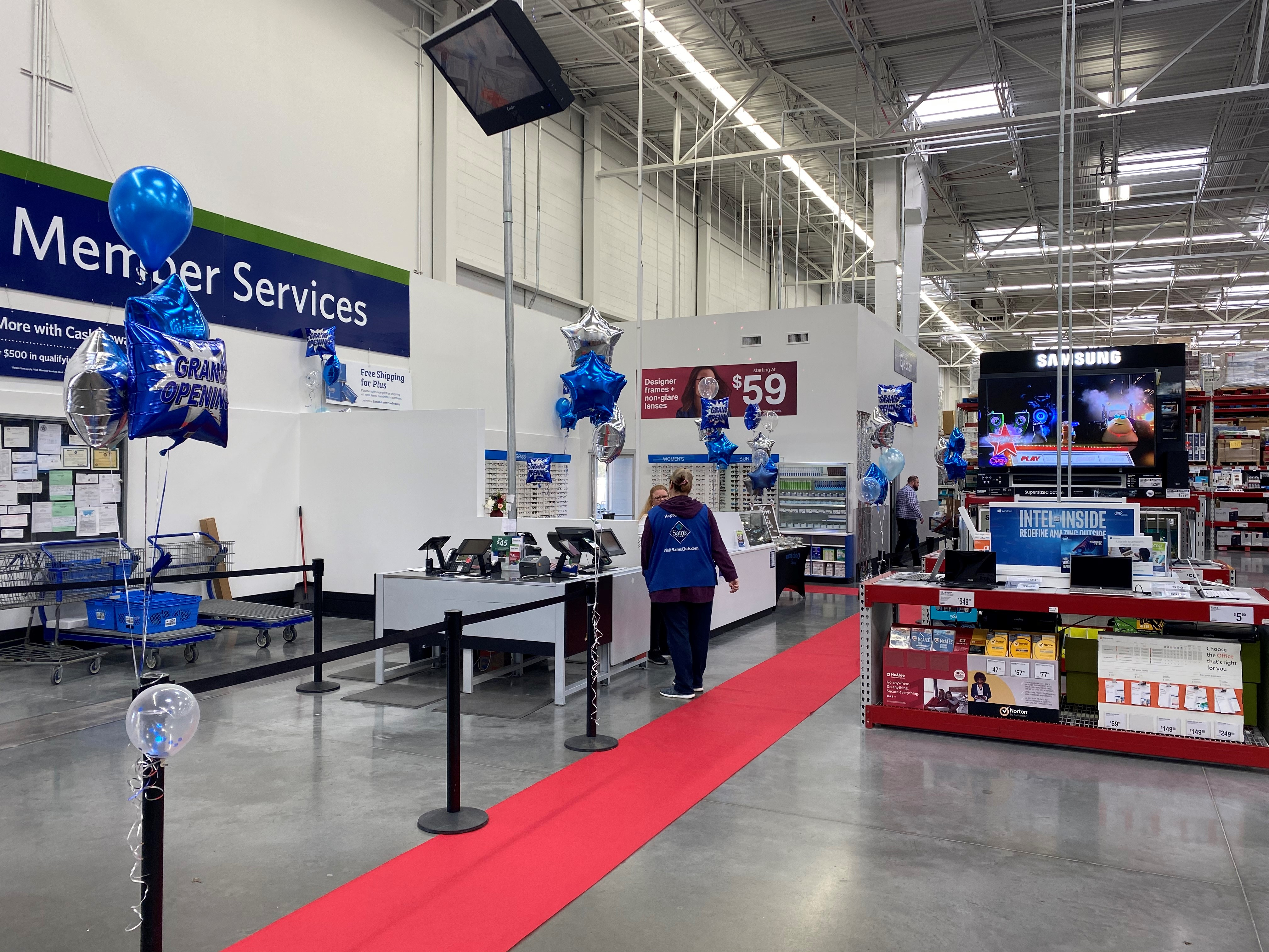 Sam's Club optical store