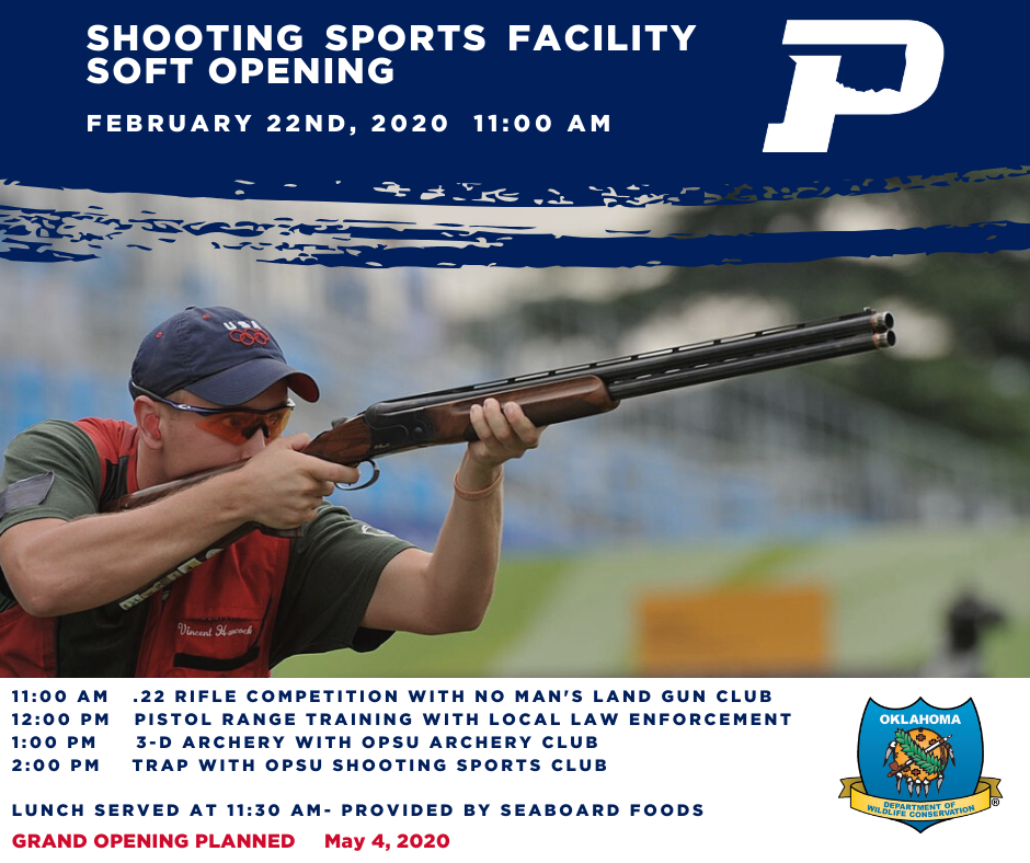 Shooting Sports Soft Opening Facebook
